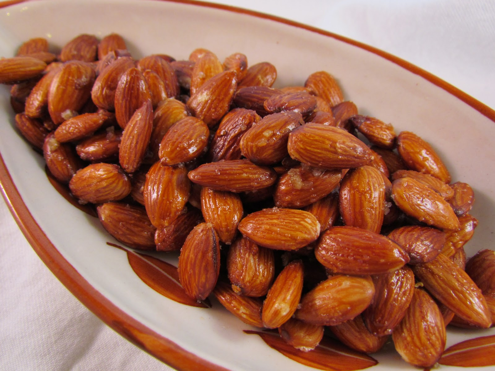 The Chef In My Head: Sweet & Spicy Roasted Almonds