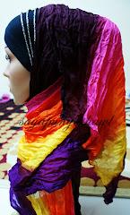 Shawl rainbow cantik :)