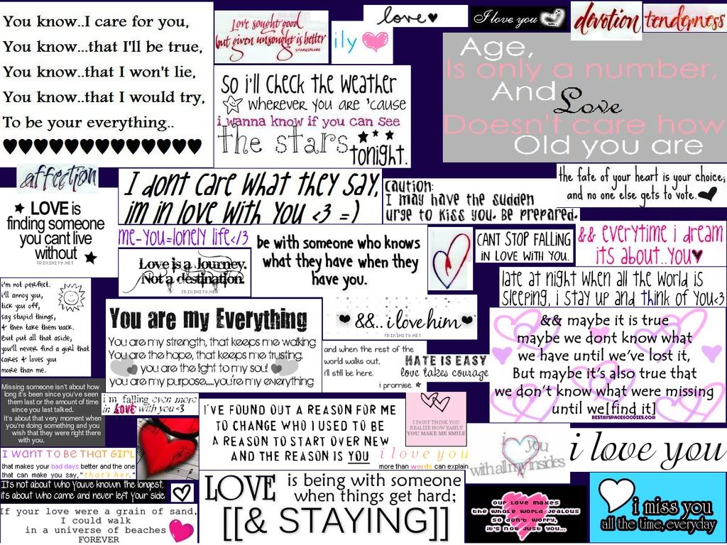 Teen Quotes Teenage Love Facebook : My Lil Voice~: love quotes~ *its so sweet* (^_^)