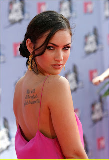 megan fox tattoos