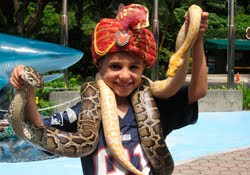 Max the Snake Charmer