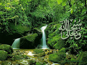 """maha suci Allah"""
