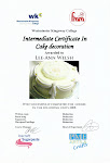 "Westminster Kingsway Certificate in Cake Decorating ""Distinction"""