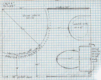 Bathroom Plans On Graph Paper