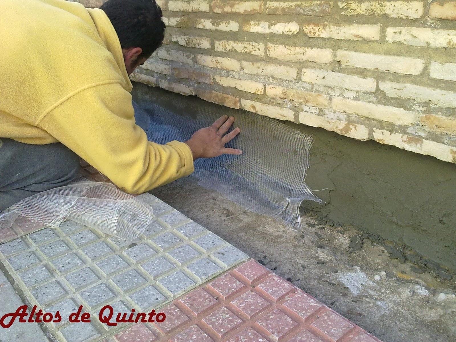 Altos de quinto arreglo de humedades en z calo de fachada - Zocalos de fachadas ...