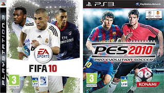 Juego FIFA 2010 y PES 2010 Diferencias Video