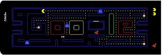 Donde jugar al Pacman de Google