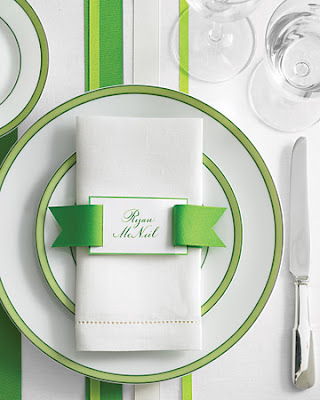 lisa scully events napkin decor ideas
