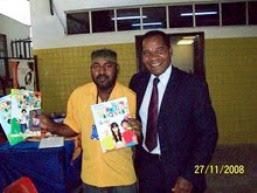 Magnífico Reitor da Universidade Zumbi dos Palmares (SP) - Evento Realizado na Bahia
