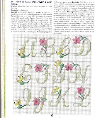 Graficos De Ponto Cruz Flores