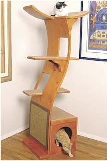 La gat sfera muebles para gatos - Trepadores para gatos ...