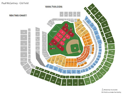 Citi Field Seating Map on