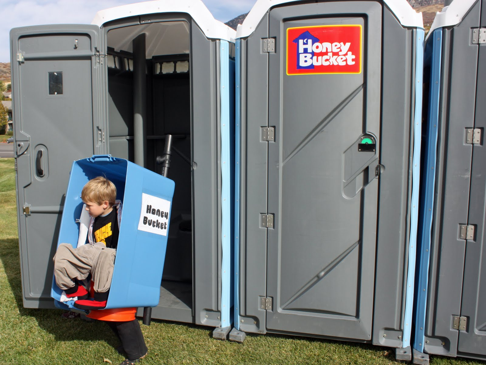 Morningstar happenings my son the port a potty for 9 year old boy halloween costume ideas