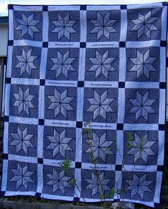 Quilt Patterns Chicken Scratch : Grandma Sal s Place: Star quilt is done