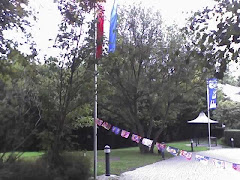 Flags at a second venue in Luxemburg