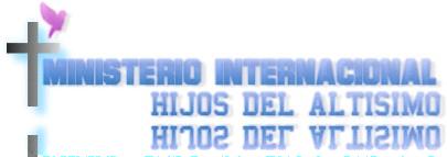 MINISTERIO INTERNACIONAL HIJOS DEL ALTISIMO