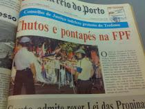 Manifestação em Lisboa à porta da FPF