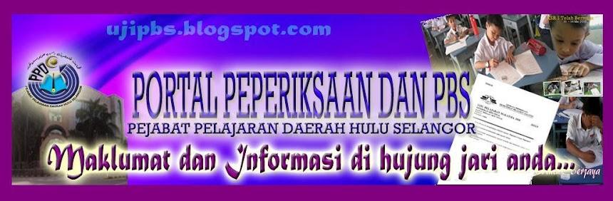 PORTAL PEPERIKSAAN DAN PBS