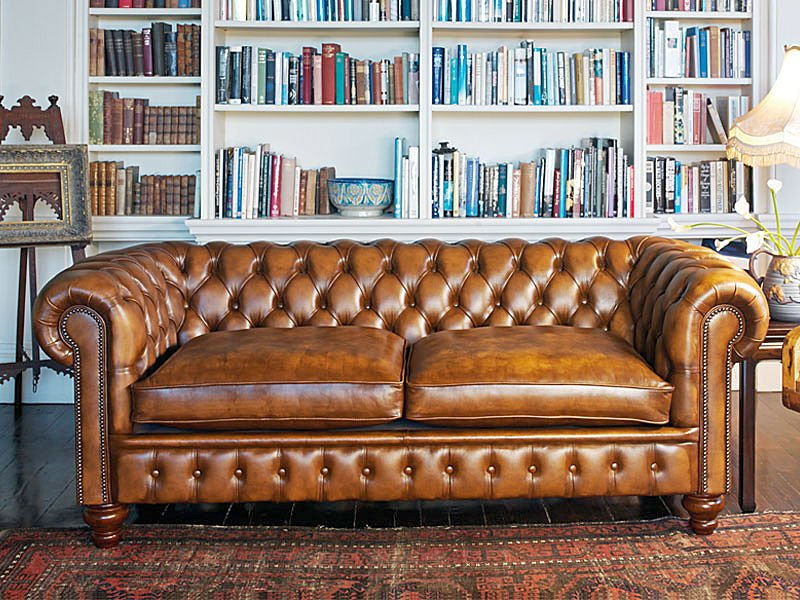 Rouge blanc noir maybe a nice chesterfield - Sofas chester piel ...