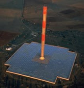 Planta Solar Térmica de Torre con Turbina de Viento