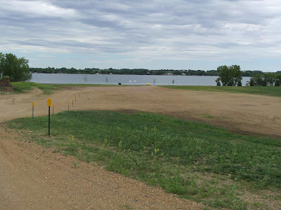 view of new county public access area on Lake Madison