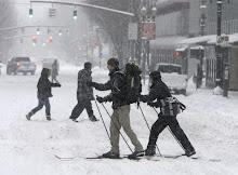 El frío y la nieve azotan Norteamerica