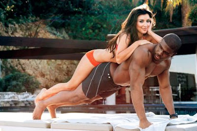 Kim Kardashian Reggie Bush Does GQ Magazine April 2009 Picture
