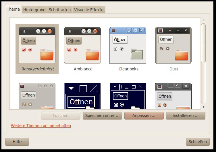 Ubuntu und du fenster buttons nach rechts verschieben in for Fenster verschieben