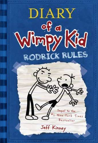 Diary Of A Wimpy Kid Rodrick Rules Book Reader