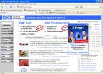 DKB Internet banking, banking.dkb.de Online Banking