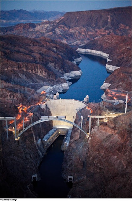 Amazing Hoover dam bridge progress Pictures