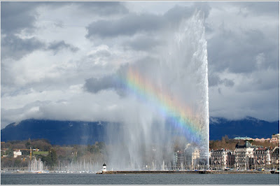 Geneva Jet d'Eau: Water fountain Pictures, Switzerland