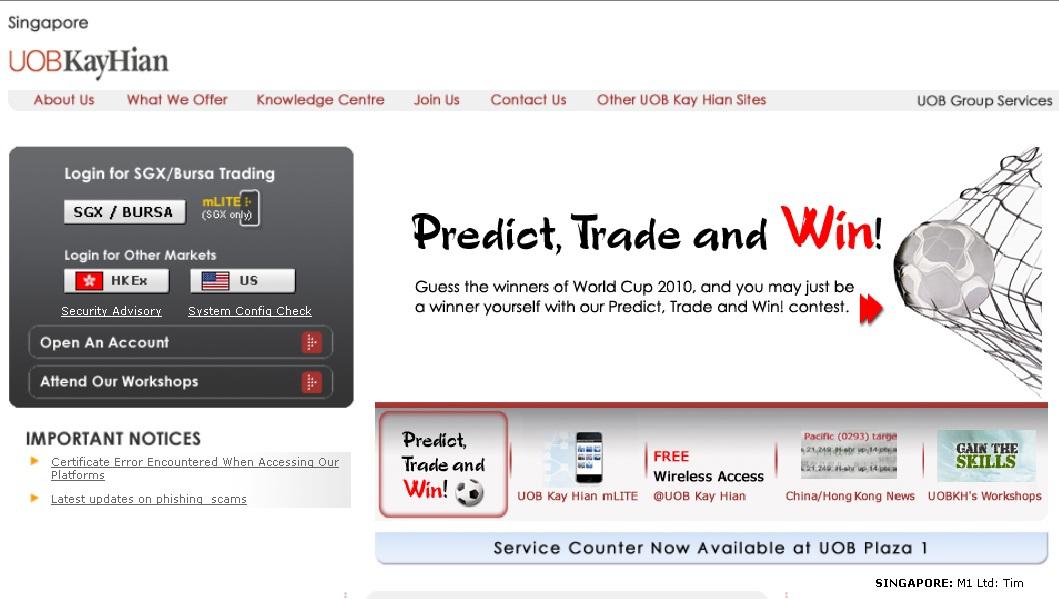Www.UOBKAYHIAN.com.sg – UOB Kay Hian Online Stock Trading ...