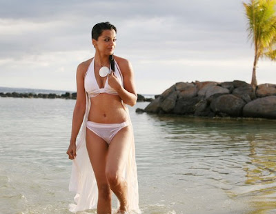 Mugdha Godse's 'Help' Movie Bikini Photos Revealed