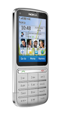 Nokia C3 Touch and Type announced at Nokia World 2010 Show
