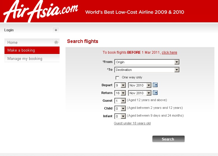 Top 5 Reasons to buy from AirAsiaGo