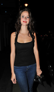 Kaya Scodelario In Black Top