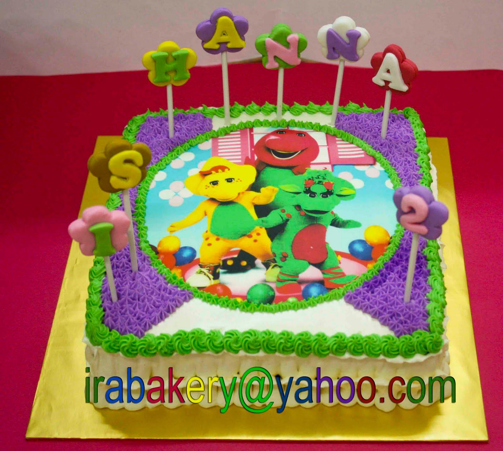 barney cake - photo #18