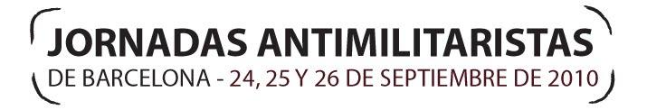 Jornadas Antimilitaristas de Barcelona