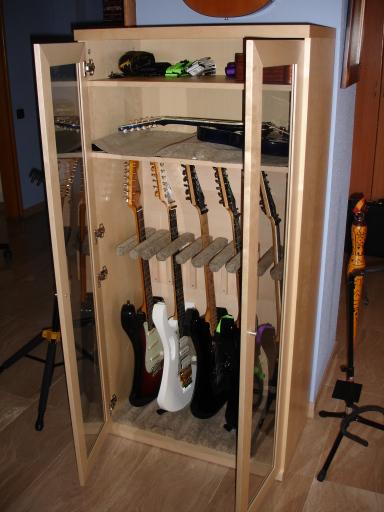Armario para guitarras diy mi llave allen - Armarios para llaves ...