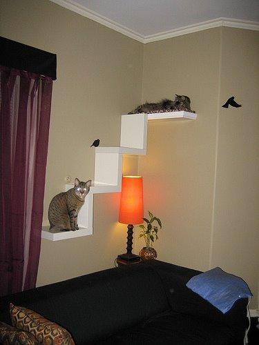 Ideas para amueblar nuestra casa pensando en nuestros animales de compañía. Decora con imaginación con Piratas de Ikea.