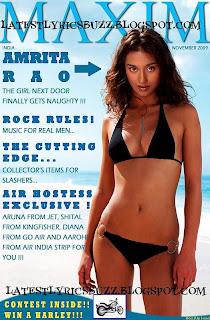 Amrita Rao In Demand For Maxim Oct 2009 Scans Gallery
