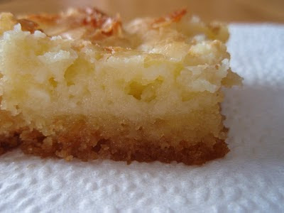 Gooey Butter Cake. Chess Bars. News flash: They're almost one and the ...