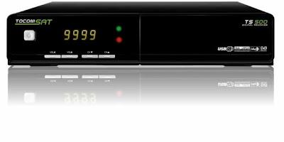 ATUALIZAÇÃO TOCOMSAT TS 500 V 2.12 - 15/04/2014