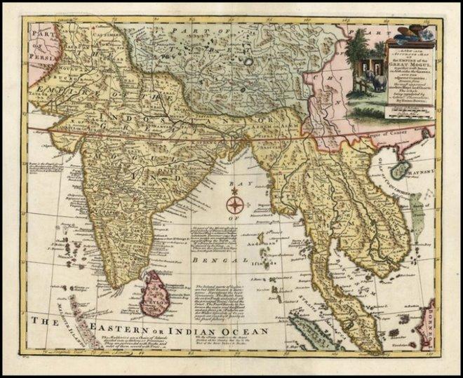 >> Peta Empayar Benua Islam Siam Nagara Kedah (Kheag Tesh-Islam tempatan)
