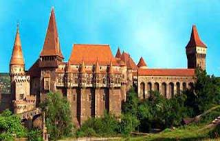 Istana Dracula, Transylvania, Romania