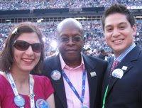 Lisa with Ken Preston and Ray Rivera