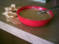 Creamy Pablano Soup