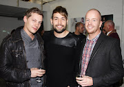 James Sutton Emmerdale , Dion and Ian Hooka Hairdressing.