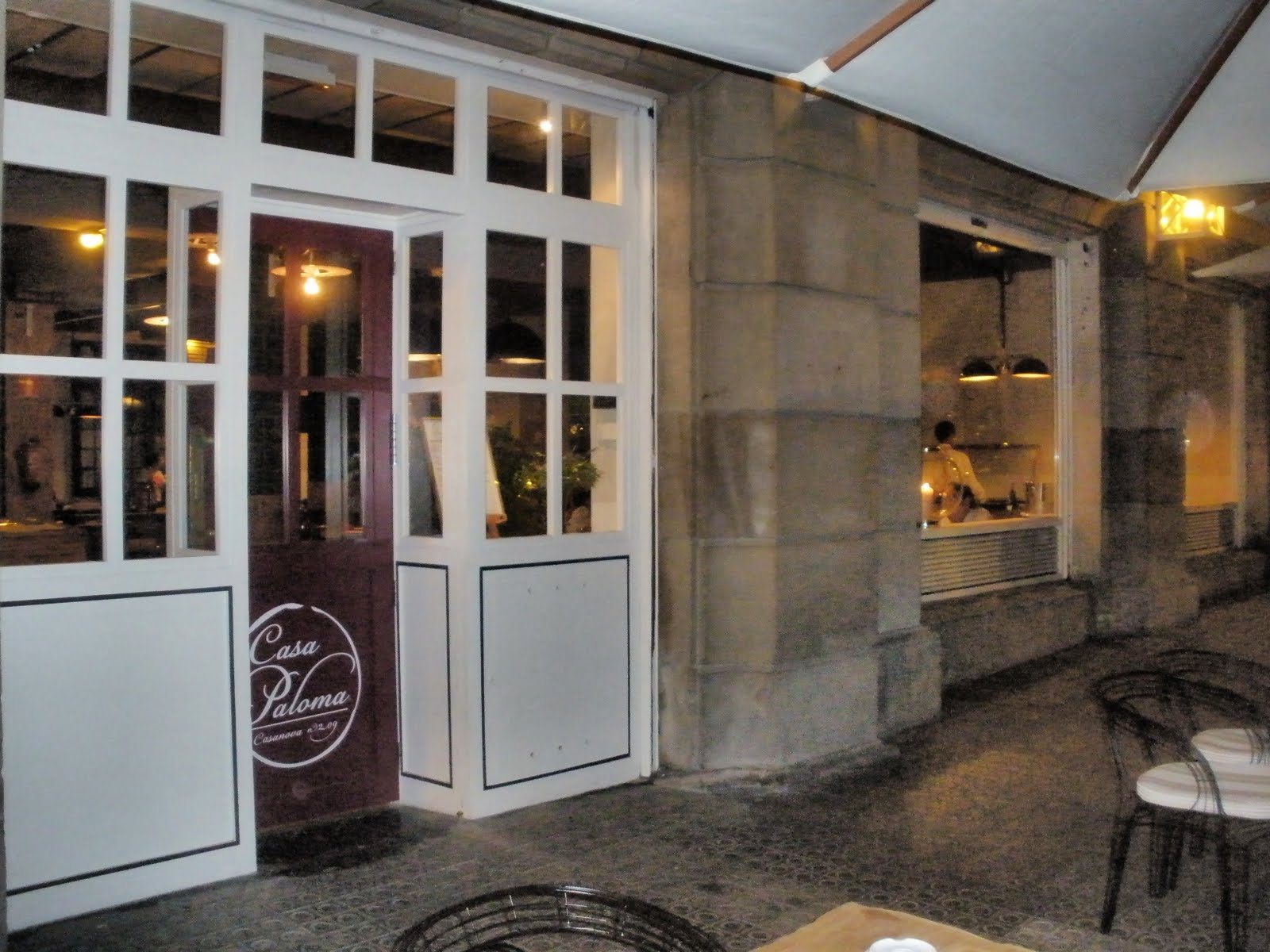 Observaci n gastron mica casa paloma barcelona - Restaurante casa paloma barcelona ...